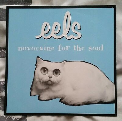 """eels 7"""" Novocaine For The Soul Extremely Rare! 1996 Also Includes Postcard"""