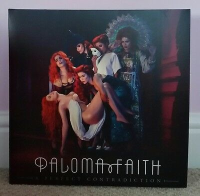 Paloma Faith Lp A Perfect Contradiction Extremely Rare Vinyl Near Mint Gatefold