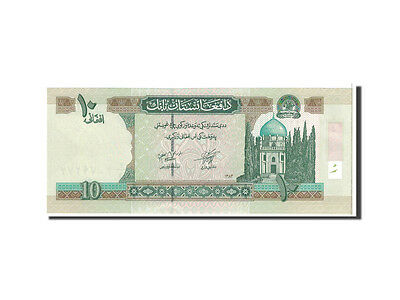 AFGHANISTAN 10 AFGHANIS ND 2004 SH 1383 NEW SIGN UNC