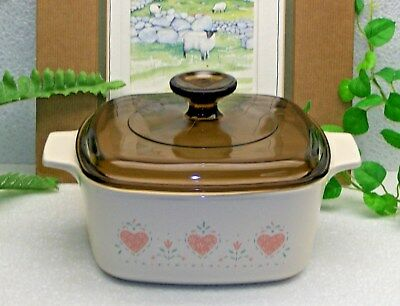 Corning Ware FOREVER YOURS Casserole Pyrex Glass Lid  1.5 Quart Qt/L  A-1 1/2-B