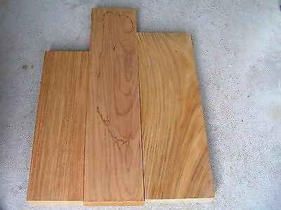 New Guinea Rosewood Timber offcuts -  3 pieces