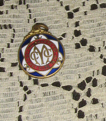 Melbourne Cricket Club Badge 1938-39 Nice Condition Stokes & sons