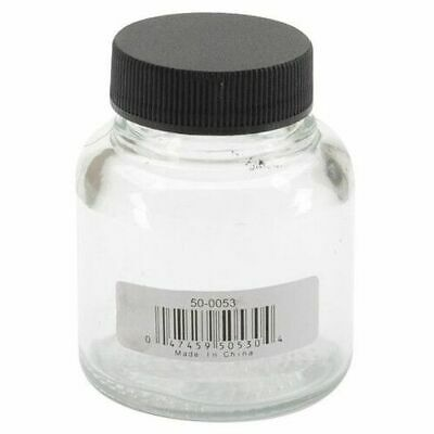 NEW Badger Airbrush 2oz Glass Jar w/cover from Hobby Tools Australia