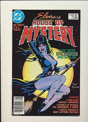 Elvira's House of Mystery #11 (DC 1987)! DAVE STEVENS Cover! SEE PICS AND SCANS!