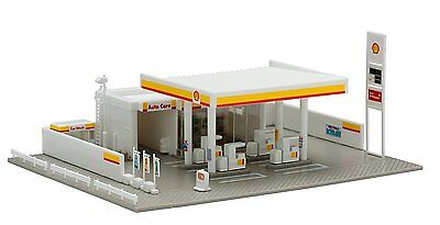 TOMIX 4072 petrol station (Shell) N gauge  #728 F/S