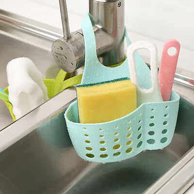 New Racks Kitchen Sink Holder Faucet Storage Bag Basket Drain Sponge