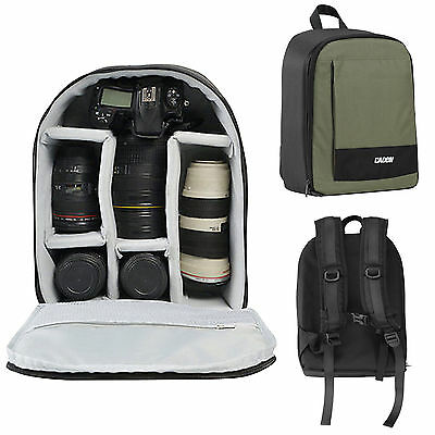 Caden Waterproof Camera Shoulder Bag Backpack Case for Canon Nikon Sony DSLR