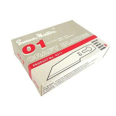 NEW Swann Morton SM 01 Blades Box of 50 from Hobby Tools Australia