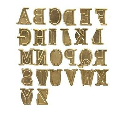 NEW Hot Stamps Alphabet Set - Upper Case from Hobby Tools Australia
