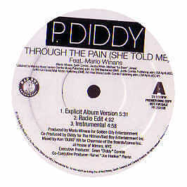 P Diddy Feat. Mario Winans - Through The Pain (She Told Me) - 2007 #230179