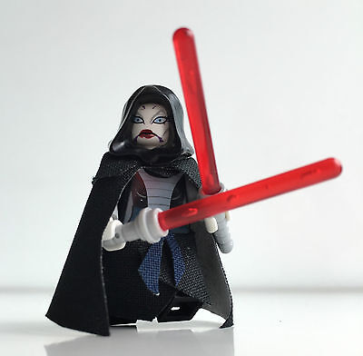Lego Star Wars Custom Assajj Ventress Set 7957 + Hood, Custom Cape, Robe, Skirt