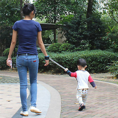 Anti Lost Band Baby Child Safety Walking Harness Strap Wrist Hand Belt