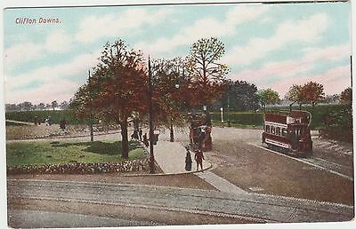 Postcard of Clifton Downs, Bristol, early 1900s