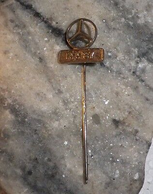 Vintage 1987 AAI signed Mercedes Benz Lapel Pin/Brooch-NZ Deceased Estate