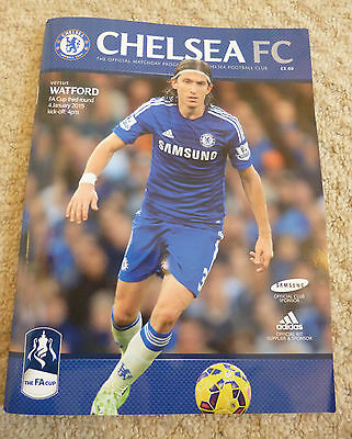 CHELSEA v WATFORD - FA CUP 3RD ROUND,  4th JANUARY 2015