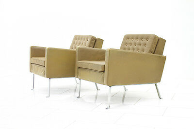 Very rare pair of Armchairs, Lounge Chairs by Roland Rainer, Austria 1956
