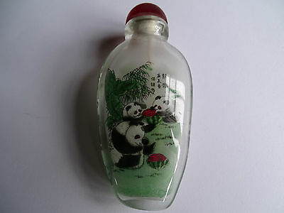 snuff bottle Chinese painted