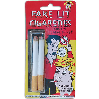 Fake Cigarettes Quality Comedy Pretend Fags Realistic