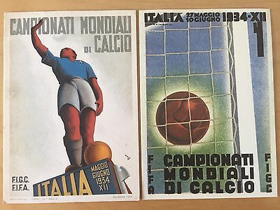 World Cup 1934 Amazing Original Postcards