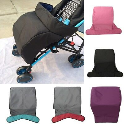 Universal Baby Stroller Footmuff Pram Buggy Pushchair Windshield Warm Cosy Toes