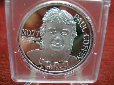 Paul Coffey - Pittsburgh  Penguins - .999 Silver 1 Oz. Silver Round - Hot Item!