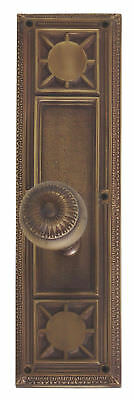 BRASS Accents Renaissance Nantucket Passage Door Knob