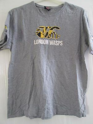 Wasps Rugby Union T Shirt Large Adult /41368