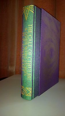 The Call of Cthulhu & Other Weird Stories by H P Lovecraft Folio Society New
