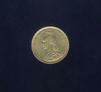 1888-S Gold Sovereign From W.W. 2 U.S. Army Air Corps Pilot Pack, Free USA Ship.