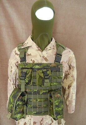 CANADIAN ARMY CADPAT DIGITAL CHEST RIG  Made in Canada