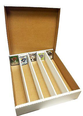 1 SUPER Monster 5-Row Storage Box Holds 5,000 trading cards by MAX PRO 5000ct -