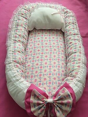 New Baby Nest Pod with removable metress and pillow, 0-12m