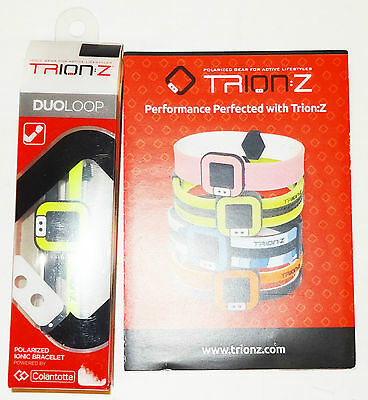 Trion-Z Duo Loop Polarized Ionic Bracelet Small Green Brand New