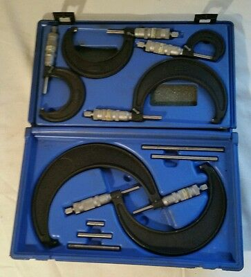 "Central Tools Inc. 0""- 6"" Complete? Micrometer Set"