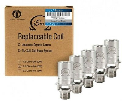 5 x Genuine Inokin isub Coils i Sub G Tank Replacement Coil 0.2 / 0.5 2.0 OHM