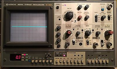 Hitachi VC-6041 Oscilloscope Digital Storage 40 MHz, Fully Tested