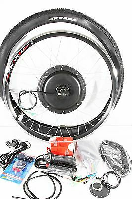 "48V 1000W Direct Drive Rear 26""  Electric Bicycle Conversion Kit"