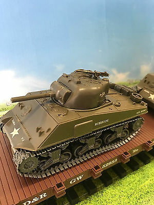 G-Scale 1/32 Scale Army M4A3 Tank For Scenery Or A Great Flatcar Load New, Kit