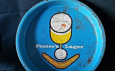 Vintage Retro Fosters Lager Collectable Drink Tray