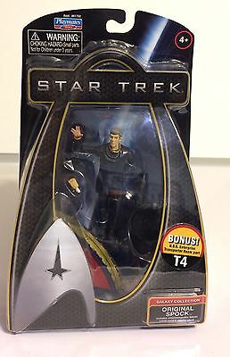 Playmates, Star Trek Galaxy Collection, Original Spock Action Figure, 2009, Nib
