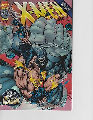 X-Men #50 Foil Cover, 1st Post, Herald of Onslaught! FREE SHIPPING AVAILABLE!