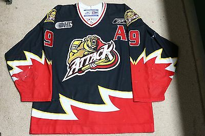 2004-05 OHL BOBBY RYAN Owen Sound Attack Game Worn Jersey with team COA
