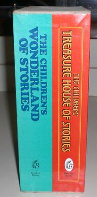 The Children's Wonderland & Treasure House of Stories Boxed Set 2 Volumes