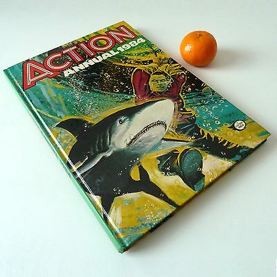 ACTION Annual 1984 - UNCLIPPED - Vintage book comic Fleetway