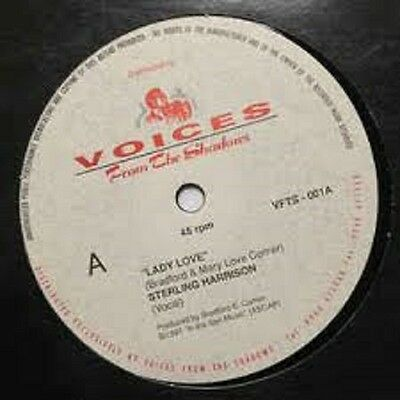 """Sterling Harrison Lady love UK Voices from the shadows RARE (12"""" Vinyl Soul)"""