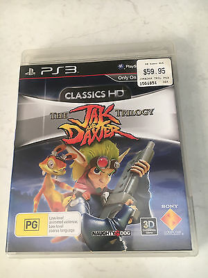 The Jak and Daxter Trilogy PS3 game