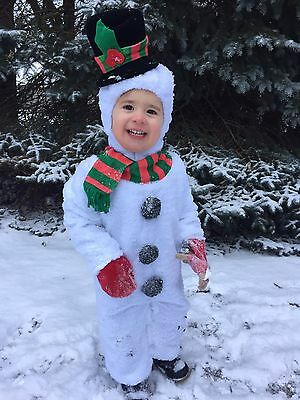 18 24 Months 2T Silly Snowman Holiday Costume Incharacter Baby Toddler