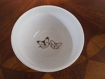 """""""all My Love"""" Cats Dish Made In Japan Seal On Bottom"""