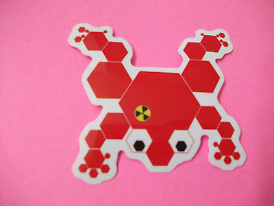 Nuclear Poisoned Frog Sticker