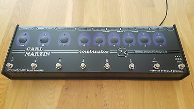 Carl Martin Combinator 2 Effects - Amps Switcher Programmable 3 bank of 6 pedals
